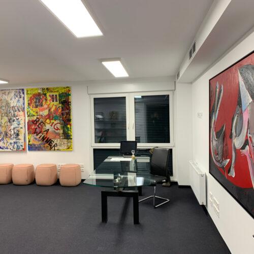 Büroräume der LAT Gruppe in der Modersohnstraße